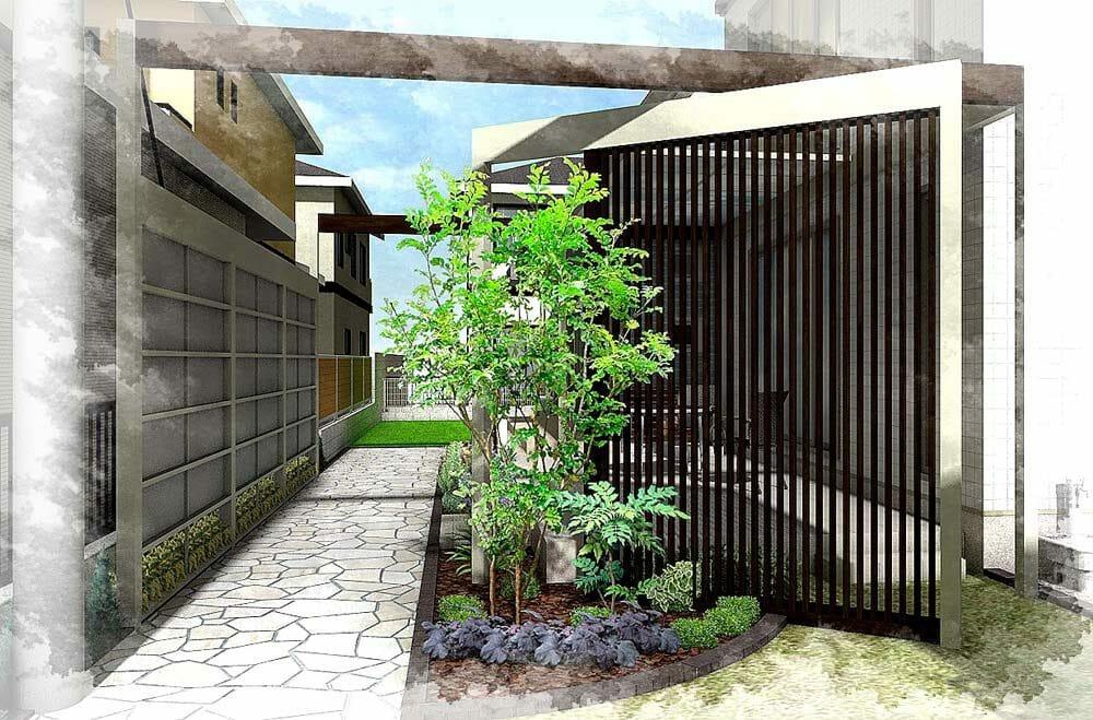 1.庭のリフォームはまず完成イメージを