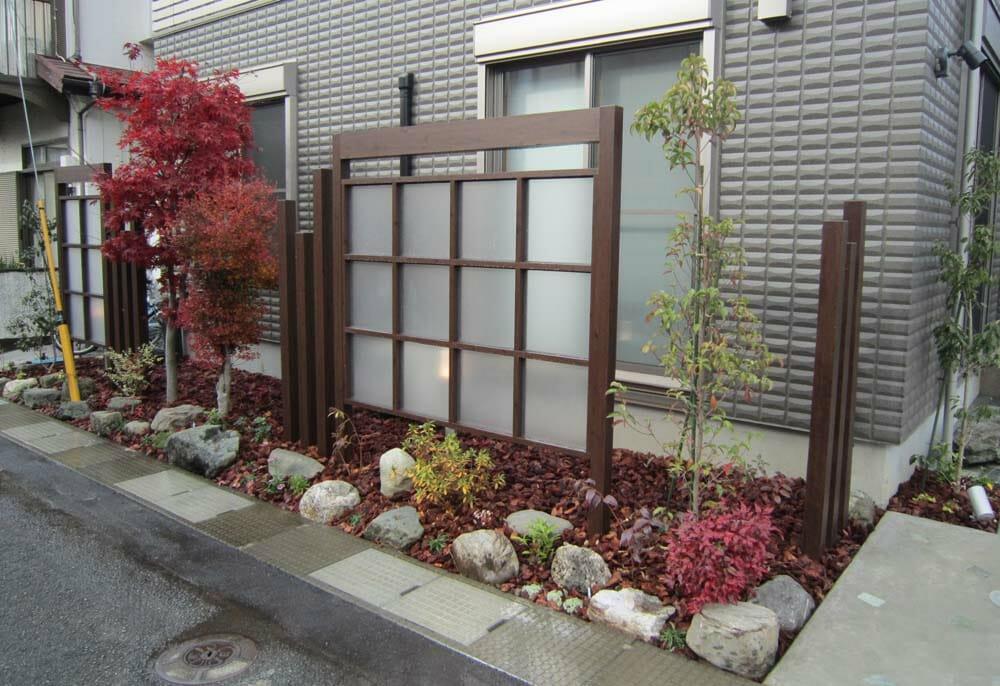 庭や外構に目隠しをするためのリフォーム
