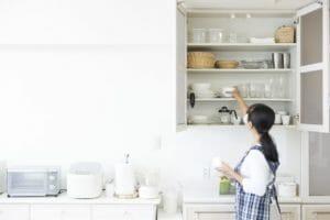 キッチンの吊り戸棚の撤去費用は?