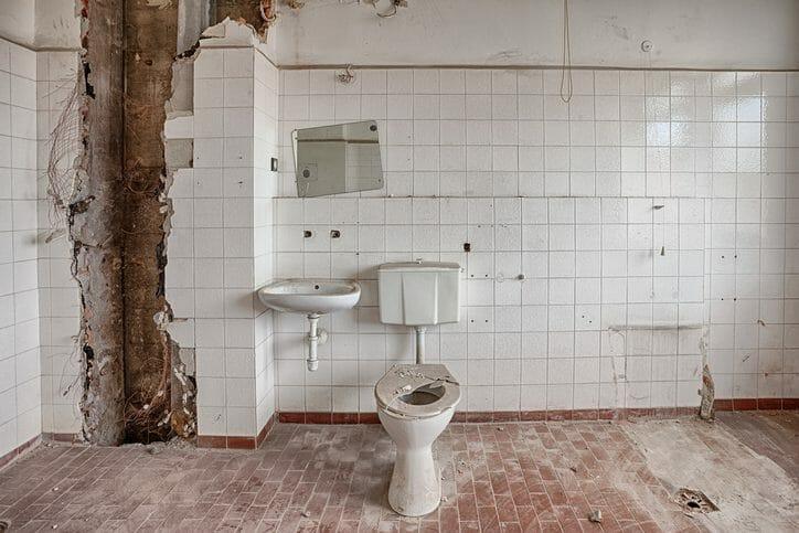トイレにシロアリが発生した時の初期症状や対策について