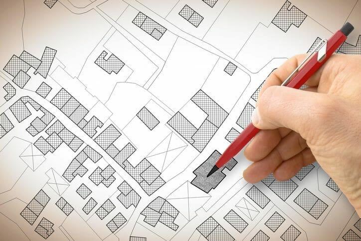 建て替え予定地のセットバックを考える