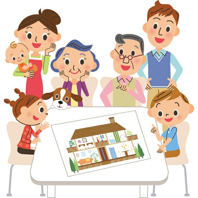 同居型二世帯住宅の間取りのメリット・デメリットや選び方とは?