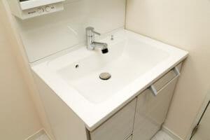 洗面所をリノベーション…より快適な空間に!
