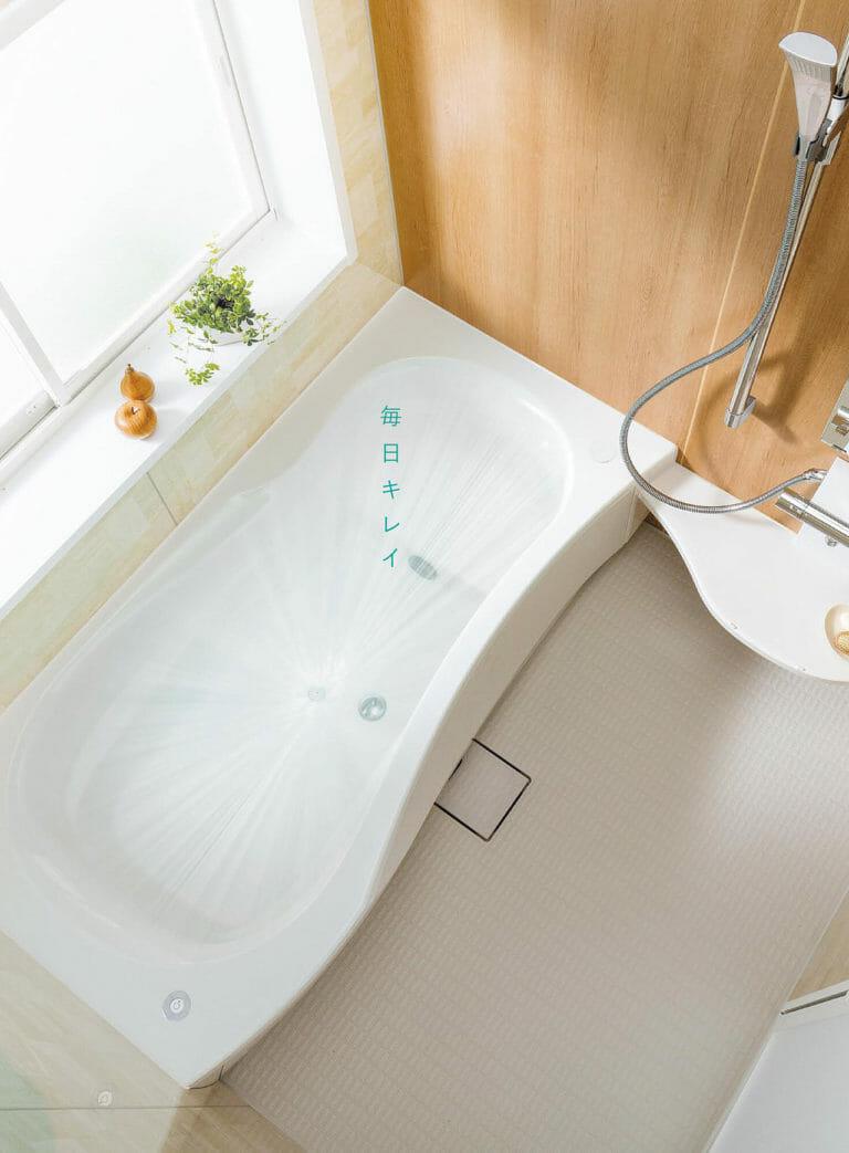 トクラスのお風呂は掃除やお手入れが簡単にできる?